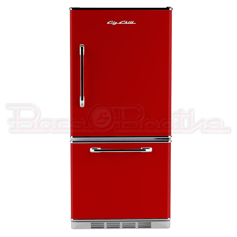 Refrigerators Parts: Red Refrigerator