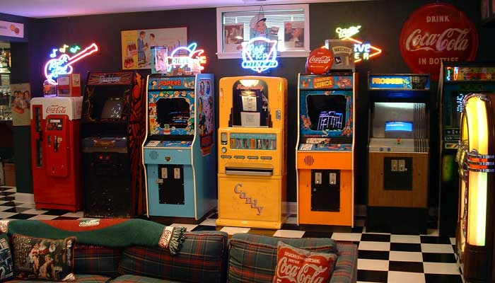 Mikes Game Room Arcade Bars Booths