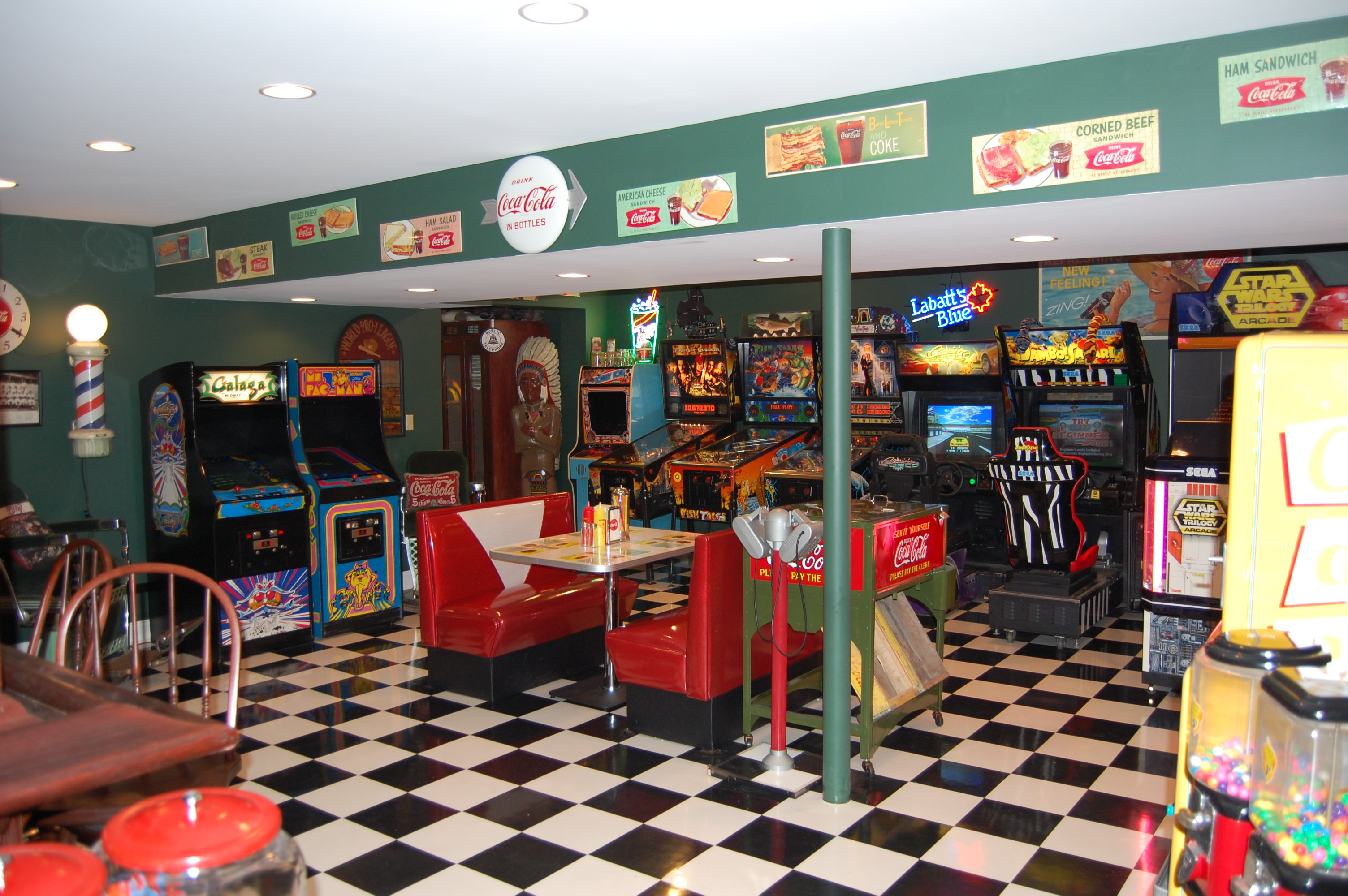 Mike's Game Room